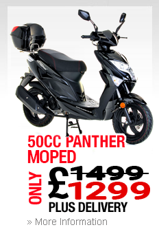 50cc Panther Moped