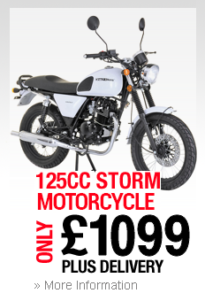 125cc Storm Motorcycle