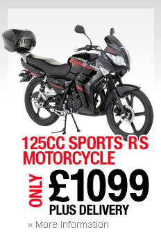 125cc Sports RS Motorcycle