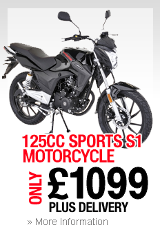125cc Sports S1 Motorcycle