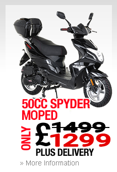 Moped Cardiff Spyder