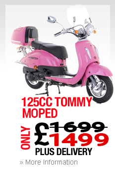 Moped Clacton On Sea Tommy 125cc