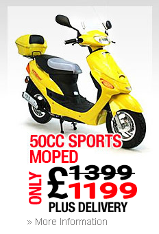 Moped In Beeston Sports