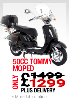 Moped In Beeston Tommy