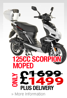 Moped In Bootle Scorpion 125cc