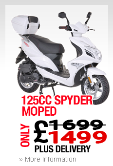 Moped Newcastle Under Lyme Spyder 125cc