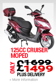 Moped Royal Leamington Spa Cruiser