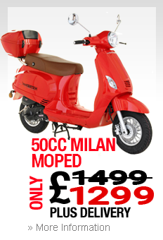Moped Royal Leamington Spa Milan
