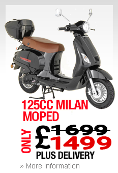 Moped Scarborough Milan 125cc